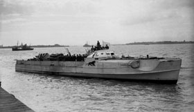 German E Boat 1945
